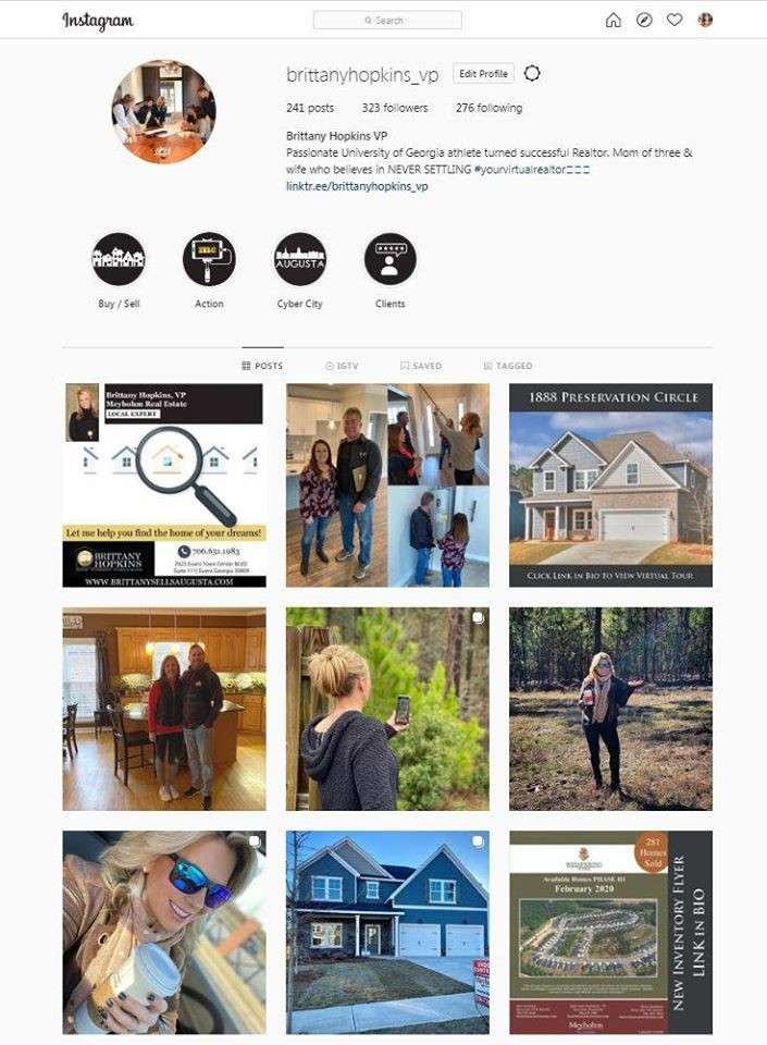 Instagram Page | Whispering Pines
